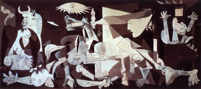 """Guernica"", Pablo Picasso (1937)."