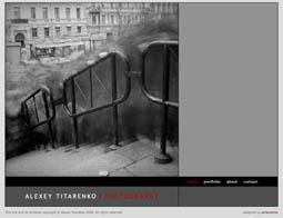 Página web de Alexei Titarenko.