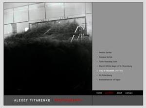 """Trabajos de Titarenko visibles en su website (imagen linkada a su portfolio). La fotografía pertecene a su serie """"City of Shadows""""."""