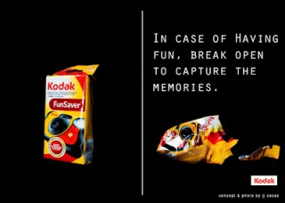 Anuncio de Kodak desde un link al blog de jcasasphotography