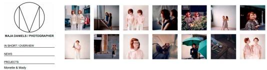 "Serie ""Monette & Mady"", de Maja Daniels, en su página web"