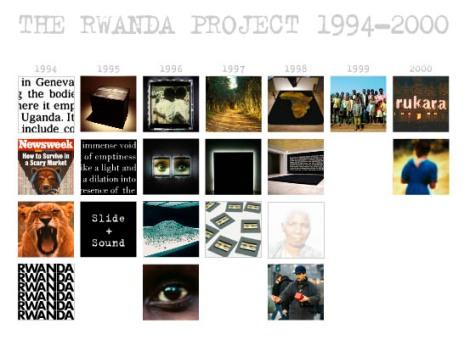 """""""Proyecto Rwuanda"""", Alfredo Jaar, 1994-2000"""