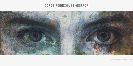 Portada de la página web de Jorge Rogriguez-Gerada