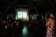 Conferencia sobre el grupo fotográfico AFAL, de Laura Terré. FotoFesta 2012. Fotografía reproducida por gentileza de su autora: Carme Muñoz.