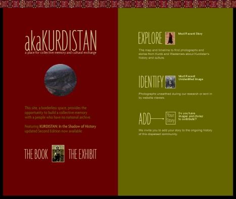 Página web de aka Kurdistan
