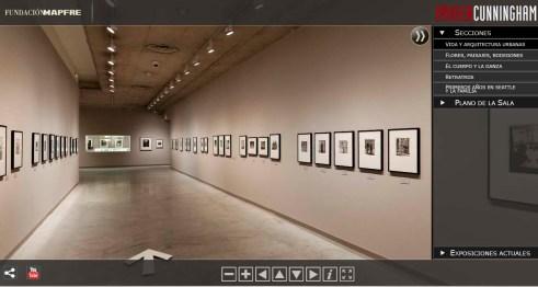 Visita virtual de la exposición de Imogen Cunningham