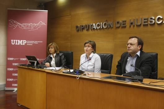 Rueda de prensa de la presentación de los cursos de extensión universitaria 2013 de la UIMP. Fotografía: Pablo Segura