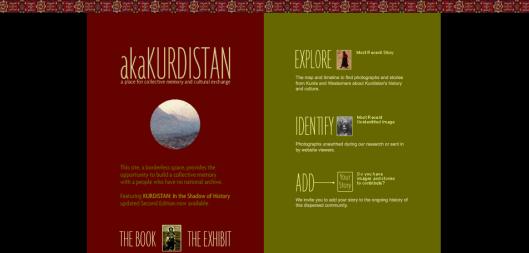 Detalle de la web akaKurdistan