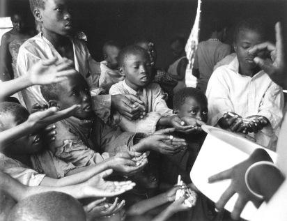 Campo de Kibumba, Zaire, 1994. Fotografía: Javier Bauluz
