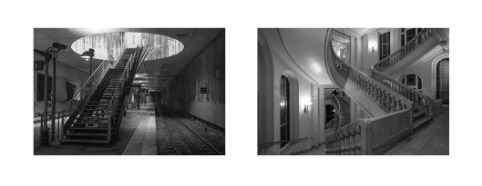 Díptico Escaleras B, Manolo Laguillo