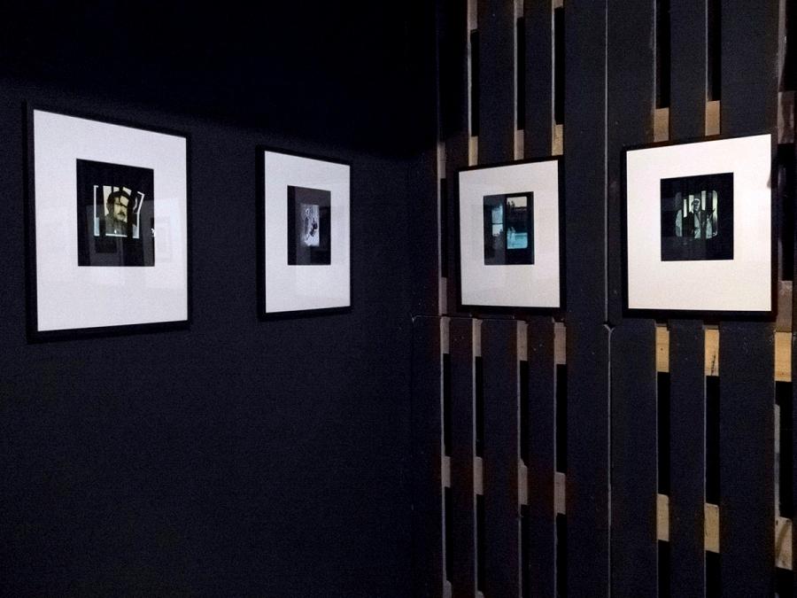 Imagen del montaje de la exposición que me envía la artista. Foto: Montse Morcate.