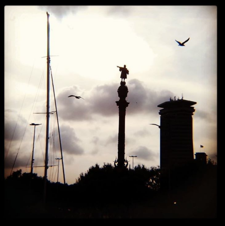 Imágenes del puerto de Barcelona compartidas en mi Instagram hace tiempo... Foto: Rebeca Pardo