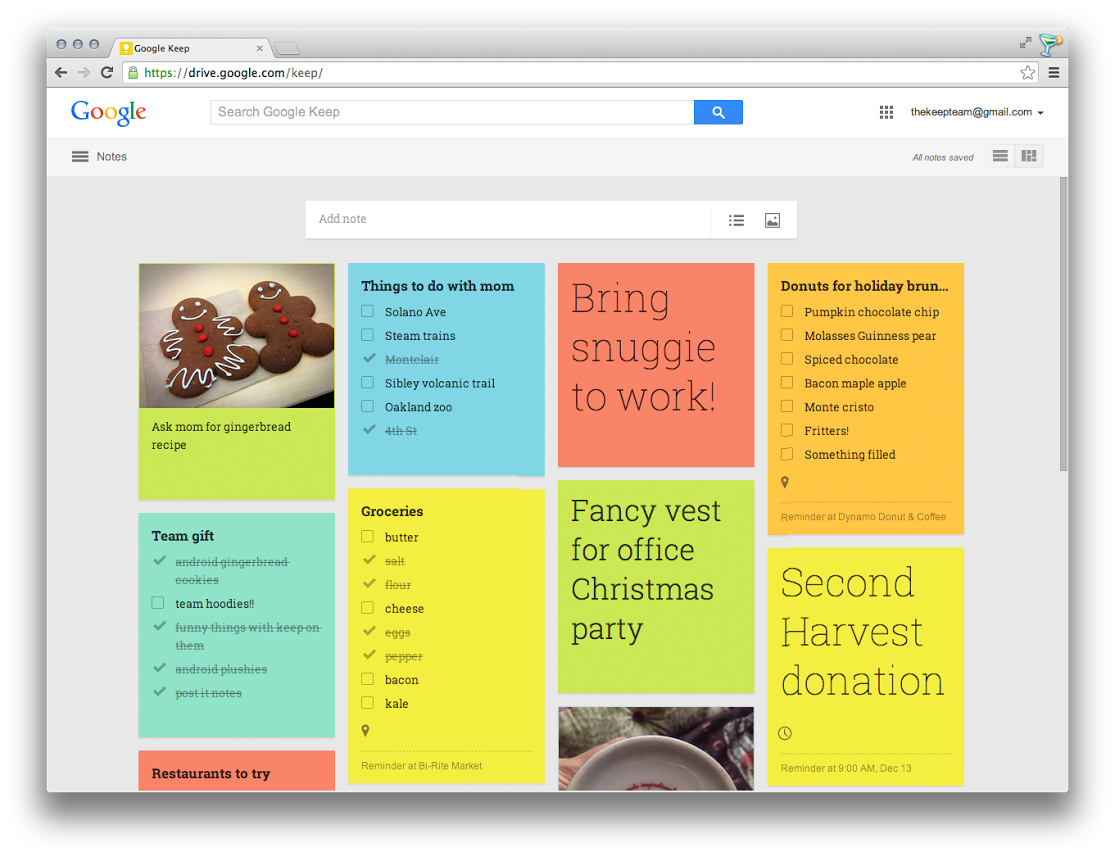 google-keep-web-update